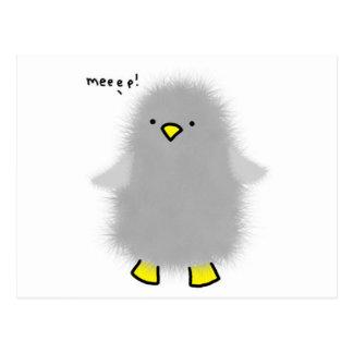 baby-penguin postcard