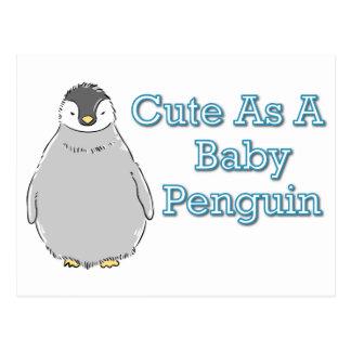 Baby Penguin Postcard