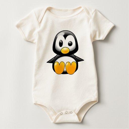 Baby Penguin Rompers
