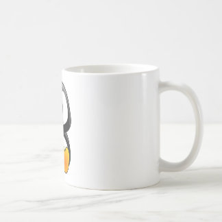 baby penguin tux coffee mug