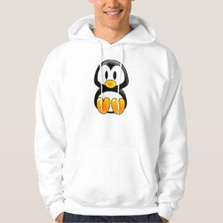 baby penguin tux hoodie