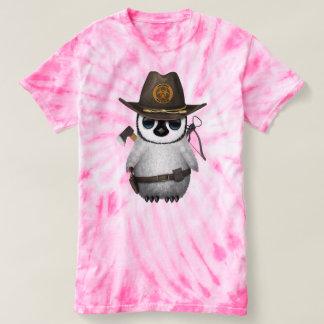 Baby Penguin Zombie Hunter T-shirt