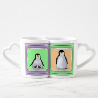 Baby Penguins Coffee Mug Set