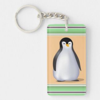 Baby Penguins Keychain