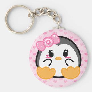 Baby Penquin - Girl Keychain