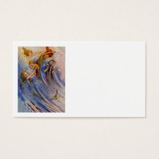 Baby Peter and the Mermaids Business Card