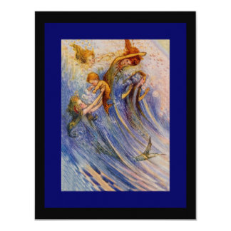 Baby Peter and the Mermaids Card