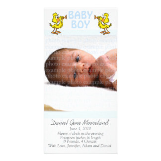 Baby Photo Announcement Cards