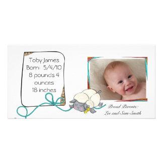 Baby Photo card