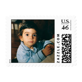 Baby Photo Postage Stamp