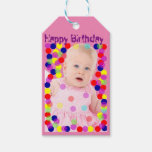 Baby Photo T-shirts Customize Gift Tags