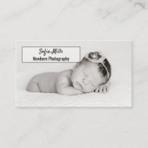 Baby Photography Newborn Photographer Photo Business Card