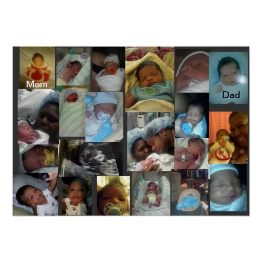 baby pictures poster