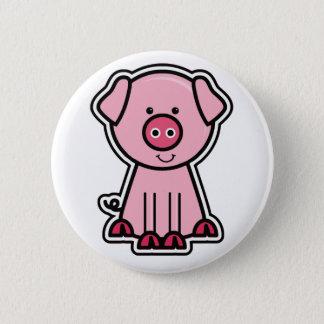 Baby Pig Sticker Pinback Button