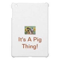 Baby Piglet Pig iPad Mini Case