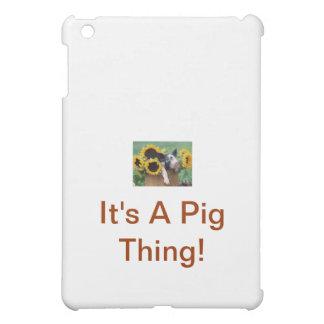 Baby Piglet Pig iPad Mini Covers
