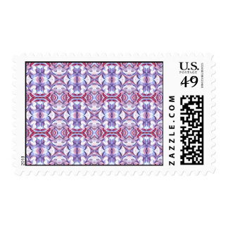 Baby Pink and Blue Cloud Pattern Stamp
