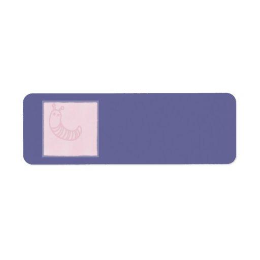 Baby Pink Block Label