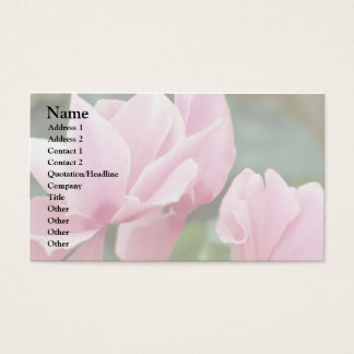 Baby Pink Business Card