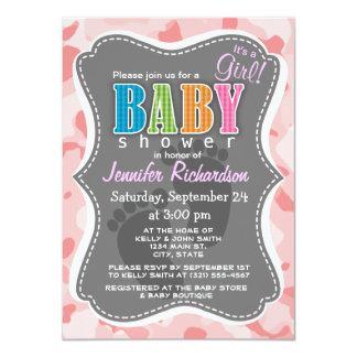 Baby Pink Camo; Camouflage Card