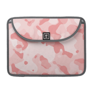 Baby Pink Camo; Camouflage Sleeves For MacBook Pro
