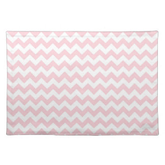 Baby Pink Chevron Placemat