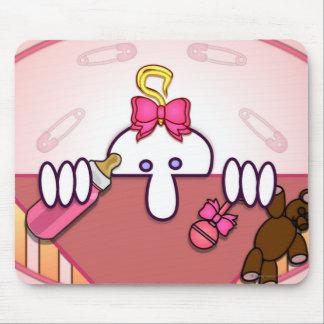 Baby Pink Kilroy Mousepad