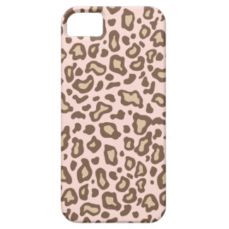 Baby Pink Leopard Print iPhone 5 Case