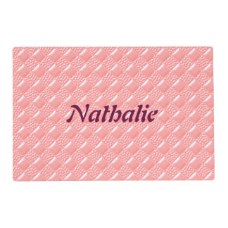 Baby Pink Placemat