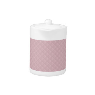 Baby Pink Quilted Leather