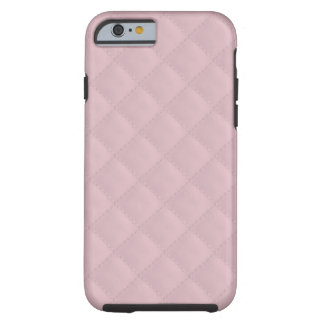 Baby Pink Quilted Leather Tough iPhone 6 Case