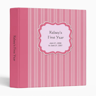 Baby Pink Scrapbook Binder