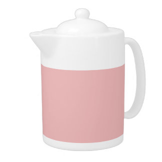 BABY PINK (solid color) ~ Teapot