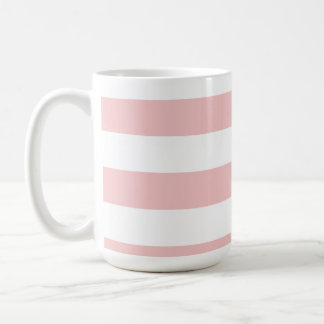 Baby Pink Stripes; Striped Coffee Mug