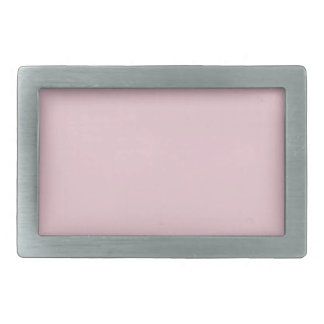 Baby PINK TEMPLATE easy add TEXT n PHOTO customize Rectangular Belt Buckle