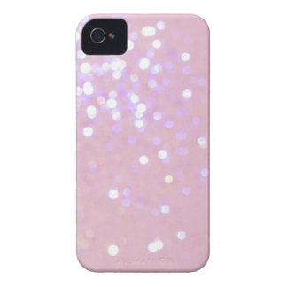 Baby Pink/White Glitter iPhone 4 Cover