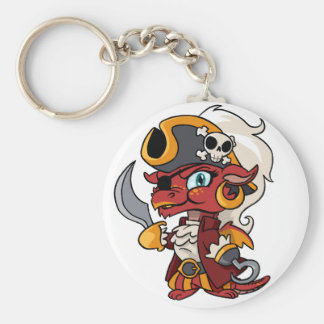 Baby Pirate Dragon Keychain