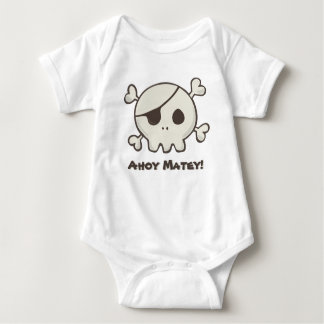 Baby Pirate Skull And Crossbones Kids shirts