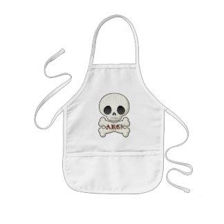 Baby Pirate Skull & Cross Bones Kids' Apron