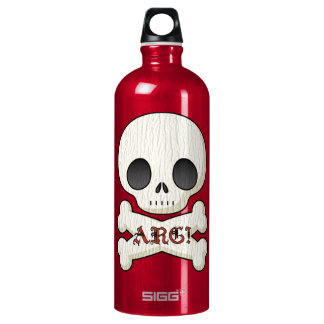 Baby Pirate Skull & Cross Bones Water Bottle