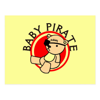 Baby Pirate T-shirts and Gifts Postcard