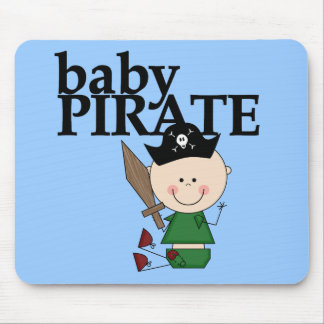 Baby Pirate With Sword - Boy Tshirts and Gifts Mouse Pad