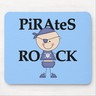 Baby Pirates Rock Tshirts and Gifts Mouse Pad