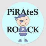 Baby Pirates Rock Tshirts and Gifts Stickers