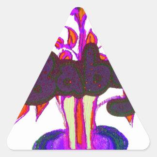 Baby plant Hakuna Matata gifts.png Triangle Sticker