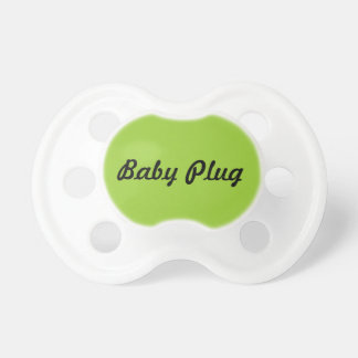 baby plug pacifier