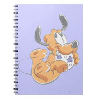 Baby Pluto Spiral Note Book