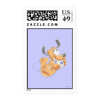 Baby Pluto Postage Stamps