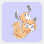Baby Pluto Square Sticker