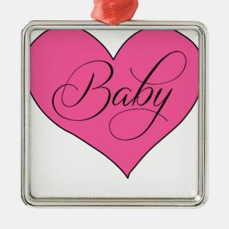 Baby.png Metal Ornament